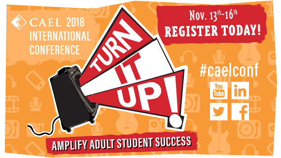 Click here to learn more about the CAEL 2018 International Conference!