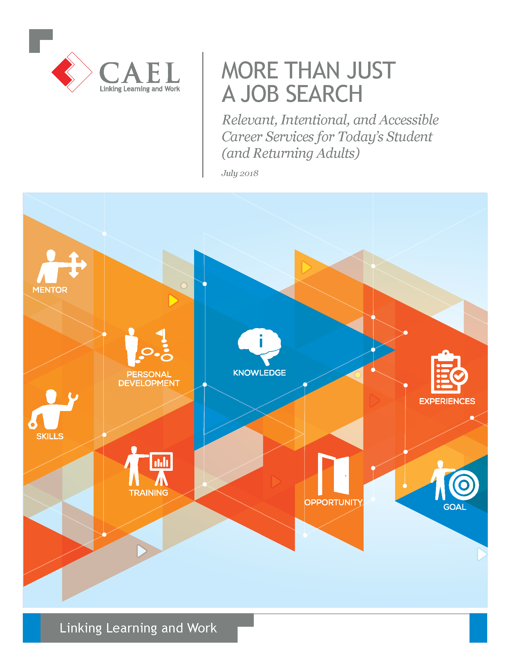 more than just a job search - relevant, intentional and accessible career services for today's adult student
