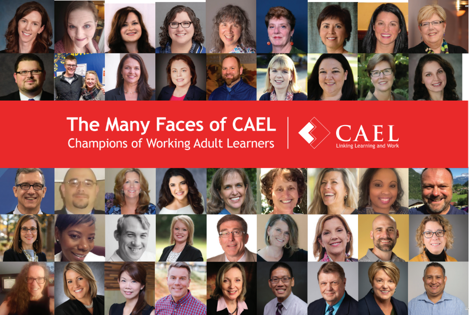 The Many Faces of CAEL Postcard