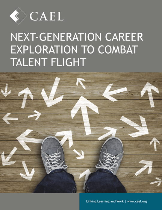 Next-Generation Career Exploration to Combat Talent Flight